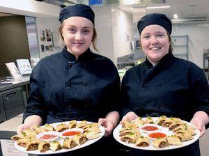 Trinity College future chefs loving their new $1.3m centre