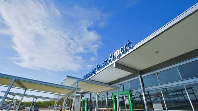 FLIGHTS ON TIME: The Whitsunday Coast Airport is number two in the country for on-time departures and number eight for on-time arrivals. Photo Contributed