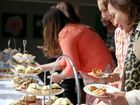 Ladies tucking into the enticing food at High Tea, the Lakes Cabarita which was held as a part of the ten day food festival. Photo: Nolan Verheij-Full / Tweed Daily News