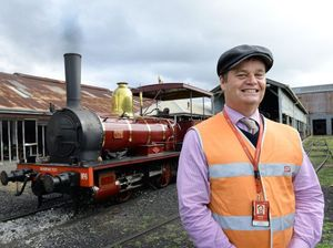 Old girl fires up for journey marking 150th birthday