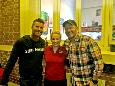 The MKR judges stopped at Kevin's Place for dinner in Mackay