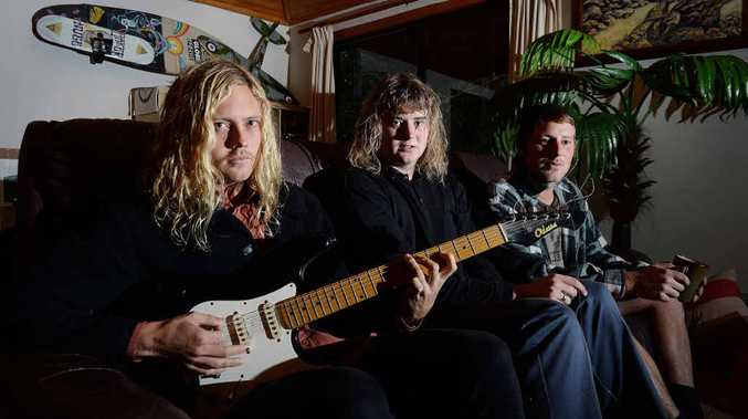 LOCAL BAND: Benny Reed, Toby Cregan and Jonny Lani, from Skegss have been selected by Triple J Unearthed to play at Splendour in the Grass.