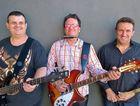 MEET THE BAND: Bass player Darren Woodman, guitarist and singer Kelvin Sweeney and drummer Jason Bucholz make up local band, Octopus.