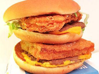Land, Sea and Air Burger