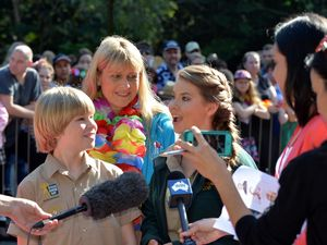 Bindi Irwin's big 17th birthday at Australia Zoo.