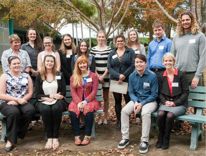 TOP MARKS: SCU graduates were honoured for their achievements at this week's Rising Stars Scholarship in Coffs Harbour.
