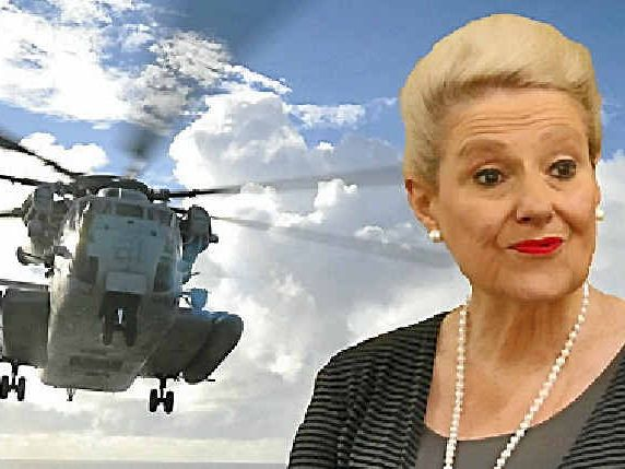 Bronwyn Bishop created a national outcry after spending $5000 on hiring a chopper.