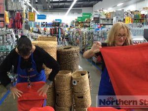 Towel folding race