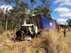 A truck driver has been killed in a crash on the Bruce Highway north of Calliope.