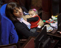 Politician praised over breastfeeding photo