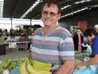 'ARJY Johnstone' bananas Allan Johnstone at Mackay Showground Markets.