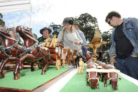 The Glenreagh Timber Festival is on Saturday.