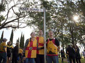 Lane renamed to honour runner