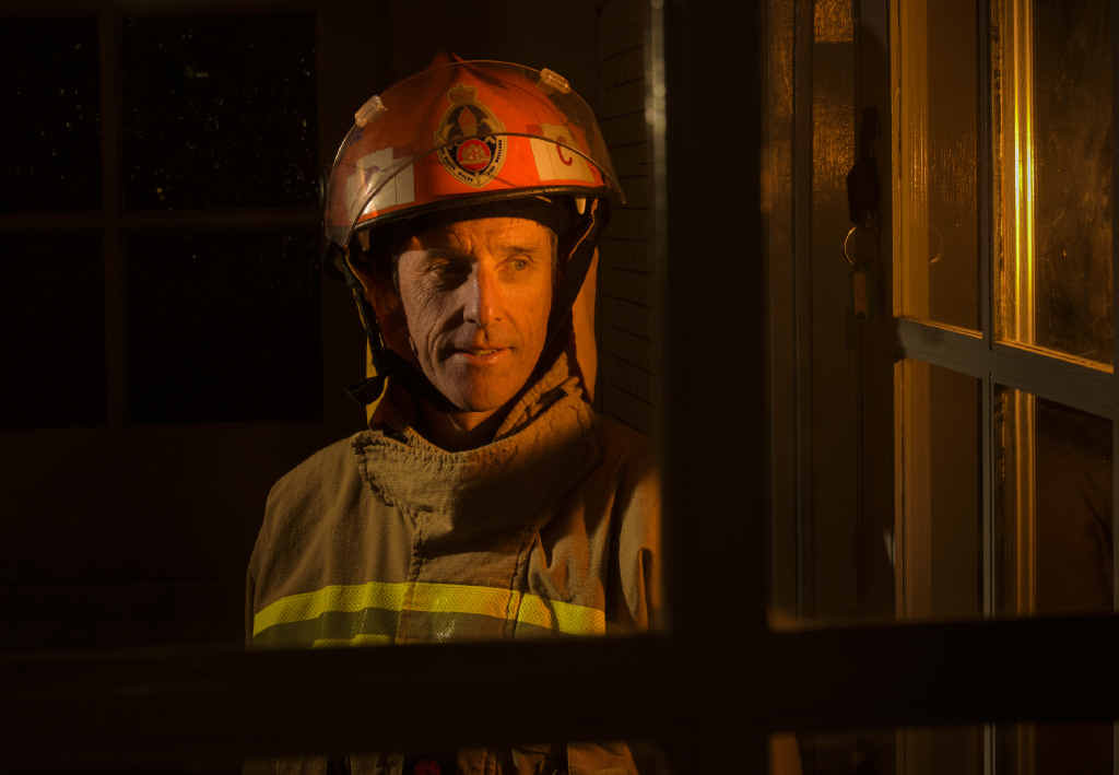 Fire Rescue NSW Grafton captain Garry Reardon.