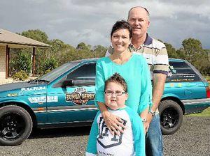 Sad farewell to local boy who lost brain cancer battle