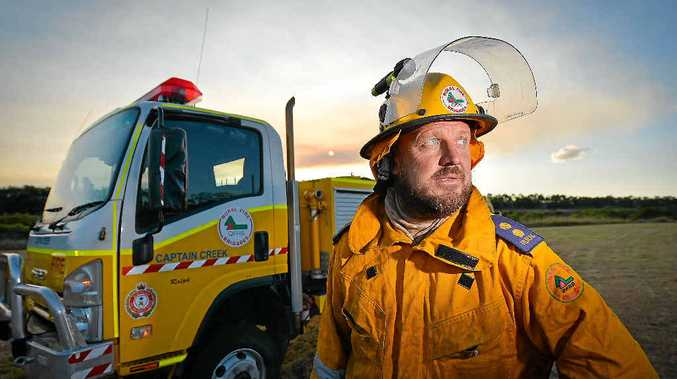 John Massurit wants a fair deal from the State Government on cancer compensation for volunteer fire fighters.