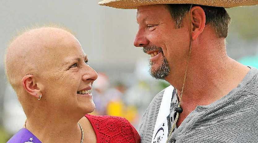 Sandra Brien with husband Paul