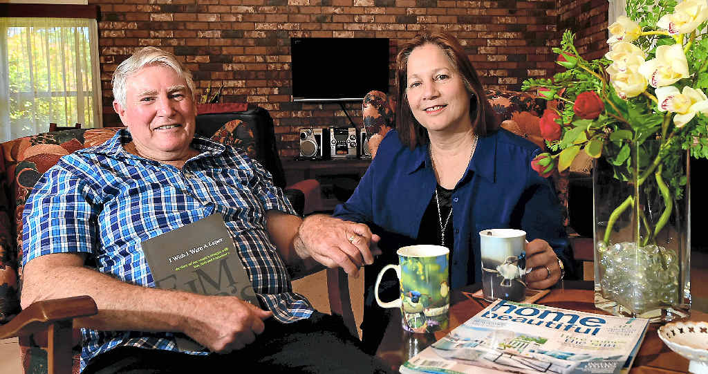 TIME OUT: Vince and Lorrae O'Rourke have turned their home into a B&B; for carers looking to have a break from their caring role.