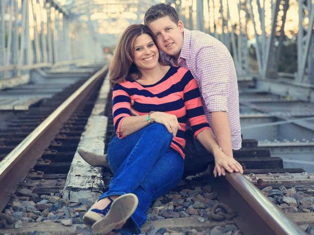 SOULMATES: The Sunshine Coast's Matt Dicinoski and his American wife, Marylyn, got to know each other on the internet.