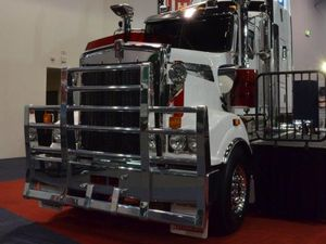 CJD trucks at the Perth Truck Show