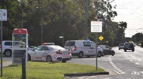 Police are investigating an alleged drive-by shooting at Noosaville.