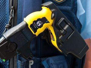 Man catches fire when tasered by police