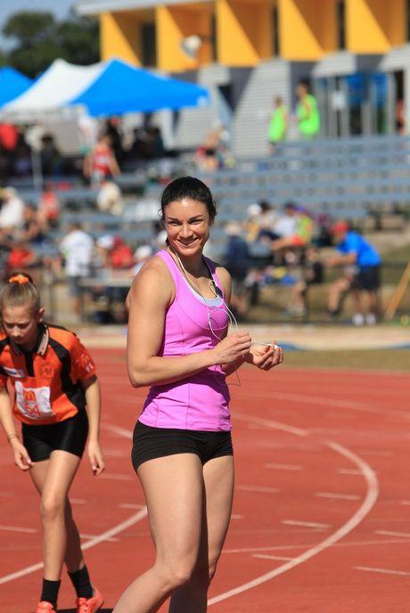 100m Women's hurdles star Michelle Jenneke. Photo: Jason Dougherty / Sunshine Coast Daily