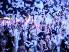Crowd, confetti and dirty hands. Splendour in the Grass 2015. Photo: Nolan Verheij-Full / Northern Star