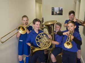 Brass ensembles on show