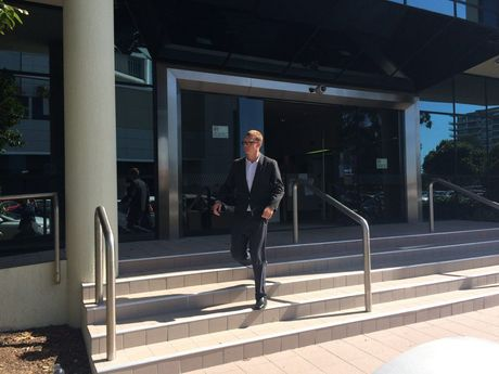 Ross Christopher Humphrey, 19, leaves Maroochydore Courthouse after being sentenced for his part in a home invasion in 2013. Photo Stuart Cumming/ Sunshine Coast Daily