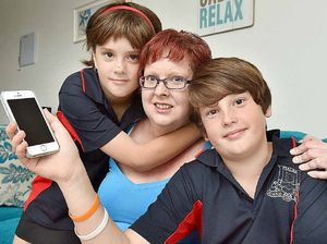 Aiden, 10, saves mum's life after medication reaction