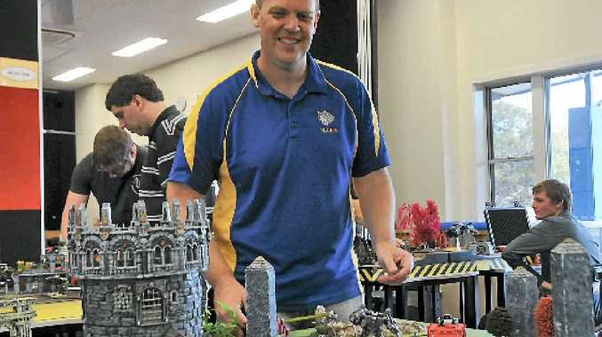 Andrew Frost from Tannum Sands took part in the Warhammer 40K Tournament, Lords of the Warp, in Gladstone at the weekend.