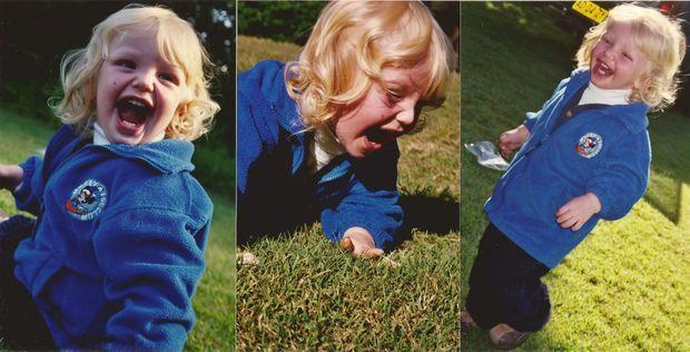 Jackson Seminara was a playful toddler.