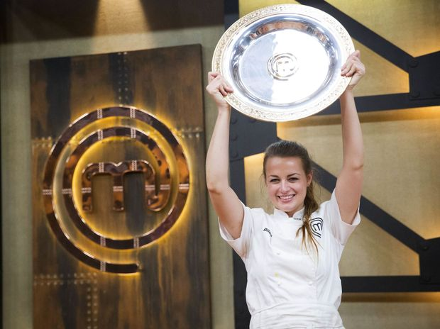 Billie McKay in MasterChef Australia 2015.