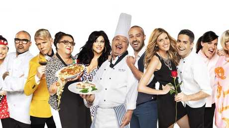 The teams competing in the new TV series The Hotplate.