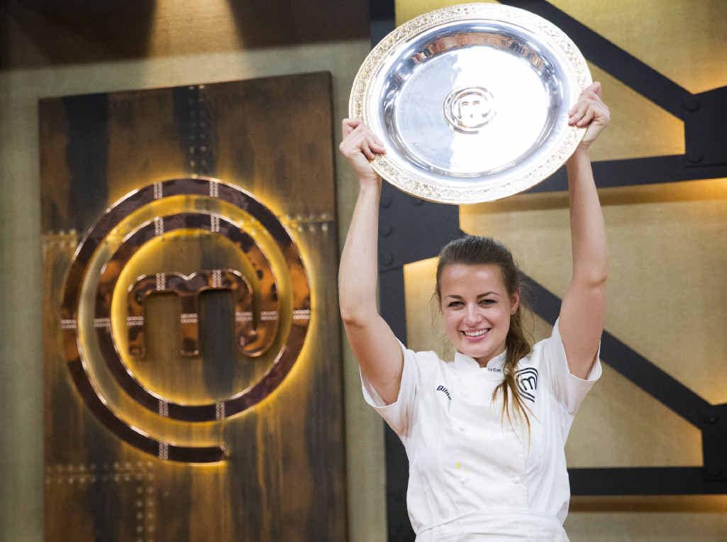 UK BOUND: Bowraville's Billie McKay, MasterChef Australia's 2015 champion, will take up a position at The Fat Duck restaurant.