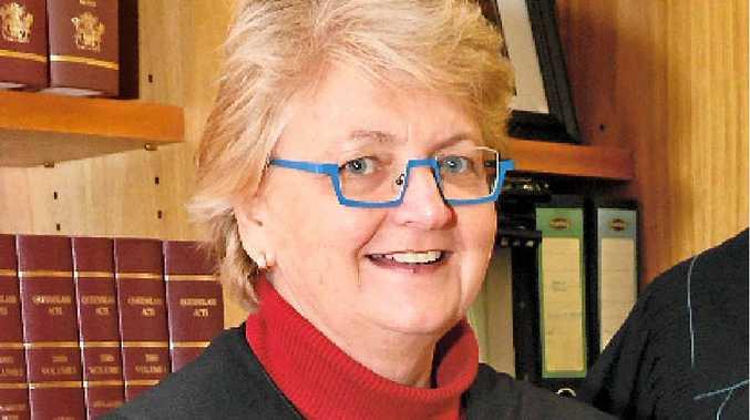 JUST STOP: Maxine Baldwin warns the dangers of drink driving