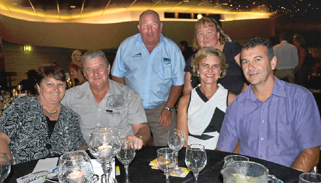 BIG NIGHT: The team from Casino Big4 Resort at last year's Richmond Valley Business Awards.