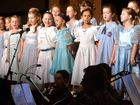 The Mackay Christian College Junior Choir will sing in the musical All That Is.