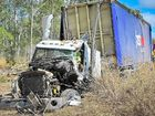 Fatal truck crash on the Bruce Highway north of Calliope.