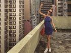 Ex-Rocky schoolgirl makes model material