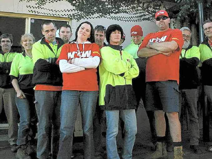 WORKERS' CLAIMS: Retail giant Big W staff members say they want more respect, increased wages and improved redundancy deals.