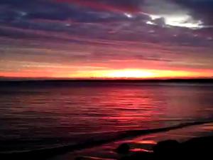 Sunrise at Urangan