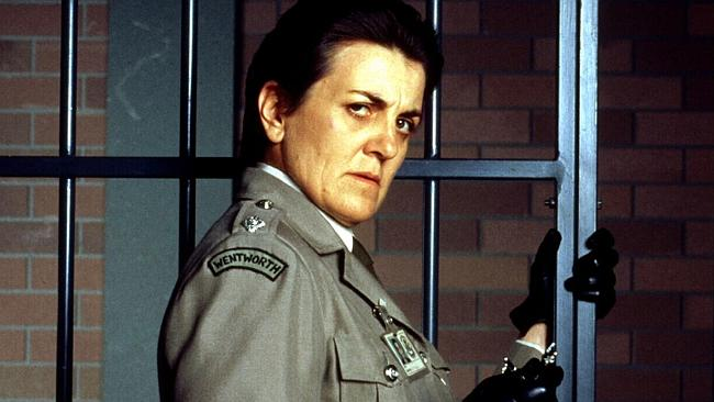 Actress Maggie Kirkpatrick played The Freak in Prisoner.