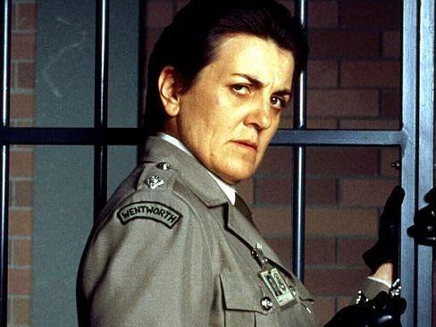 Actress Maggie Kirkpatrick played The Freak in Prisoner.