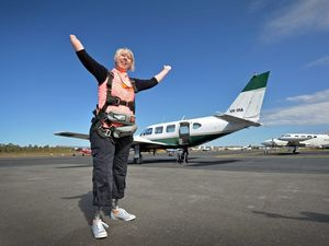 VIDEO: Skydiving challenge holds no fears for amputee