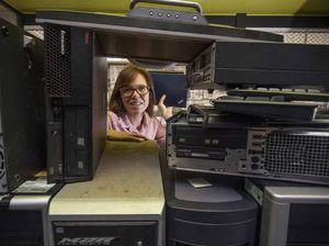 Refurbishment facility cuts Valley e-waste and unemployment