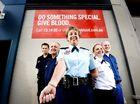 Cops, firies, ambos step up as winter flu hits blood stocks