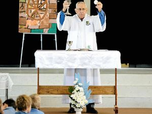 Service honour for local priest