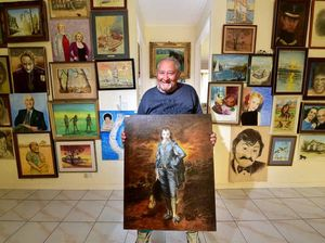 Humans of the Sunshine Coast: Mastering the paint masters
